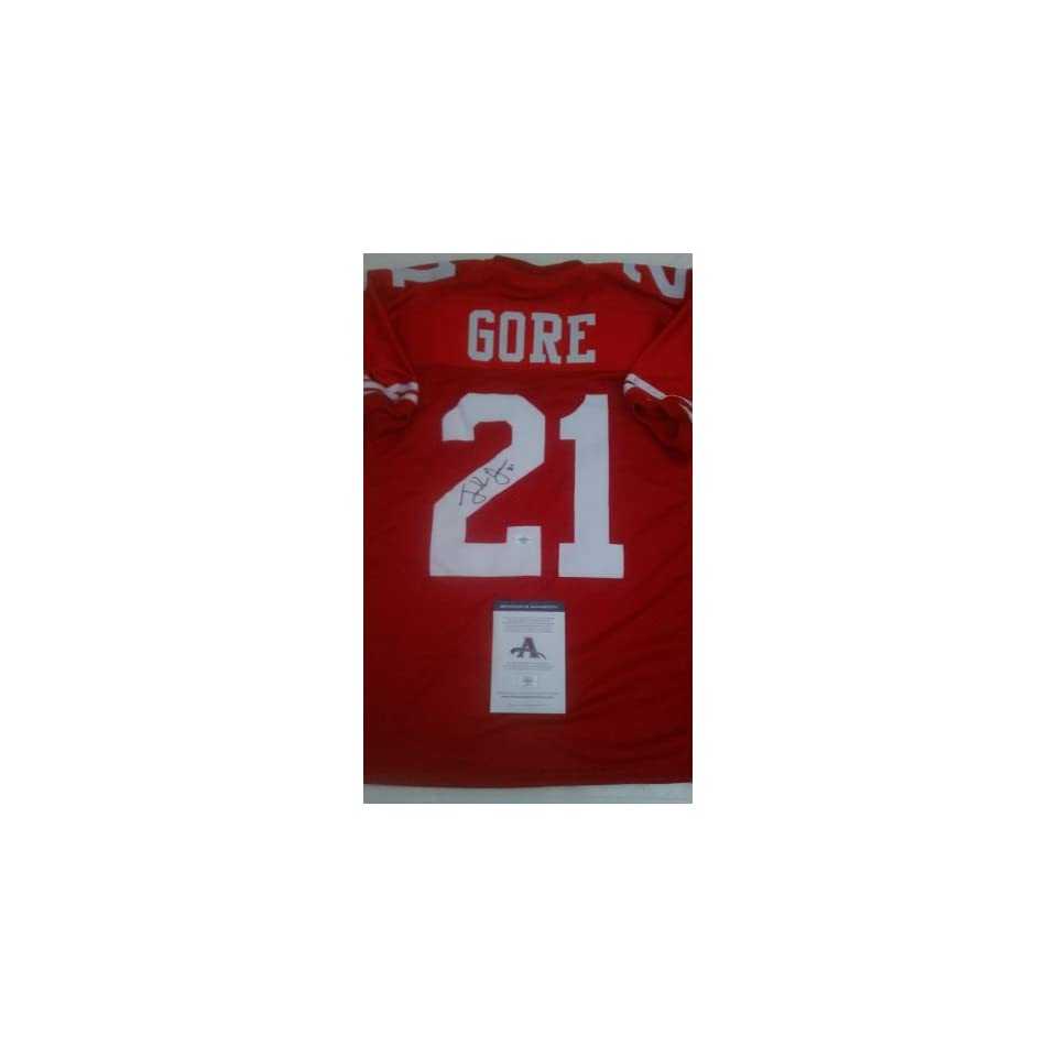 Frank Gore Signed San Francisco 49ers Jersey