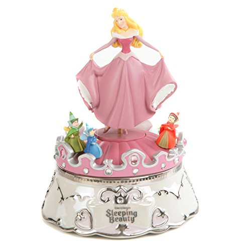 Retired Bradford Exchange Disney Sleeping Beauty Aurora's Dance Music Box