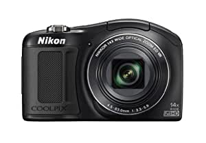 Nikon COOLPIX L620 18.1 MP CMOS Digital Camera with 14x Zoom Lens and Full 1080p HD Video (Black) (OLD MODEL)