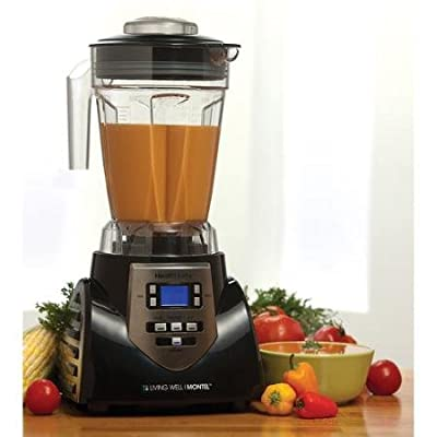 Montel Williams HealthMaster Elite 1200W 8-Speed Juicer, Blender & Food Processor by HealthMaster