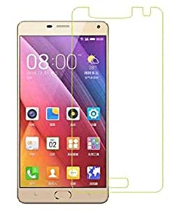 VJOY Antishock Tempered Glass Screen Protector for Gionee Marathon M5 Plus and (Single Front Transparent Screen Protector) Freebies Offer : The Great Grand Diwali Deal (Get a VJOY 5200 mAh Power-Bank RED) (1 Year Replacement Guarantee, Li-ion Battery, Long Battery-Life) worth Rupee 1599/- absolutely free with Screen Protector)