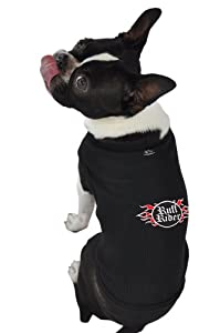 Ruff Ruff and Meow Dog Tank Top, Ruff Rider, Black, Small