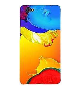 PrintVisa Modern Art Pattern 3D Hard Polycarbonate Designer Back Case Cover for VivoX5Pro