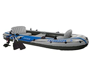Intex Excursion 5 Boat Set - 2013 Model by Intex