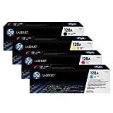 HP Pro CM1415 ,Pro CP1525NW Full Set Original Toner Cartridges C,Y,M,K(CE320A,CE321A,CE322A,CE323A)