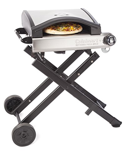 Cuisinart CPO-640 Alfrescamore Portable Outdoor Pizza Oven with Stand, Black (Stand Oven compare prices)