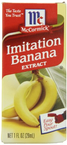 McCormick Imitation Banana Extract, 1-Ounce Unit (Pack of 6) (Hazelnut Extract Bulk compare prices)