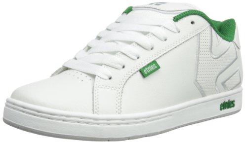 Etnies Mens Fader Skateboarding Shoes 4101000203 White/White/Light Grey 7.5 UK, 41.5 EU, 8.5 US