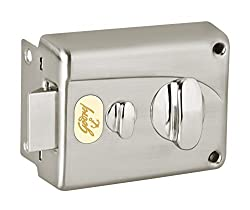 Godrej Locks Premium Night 1CK - Brushed steel Inside opening Pin cylinder Technology (Brushed Steel) (Paid Installation)