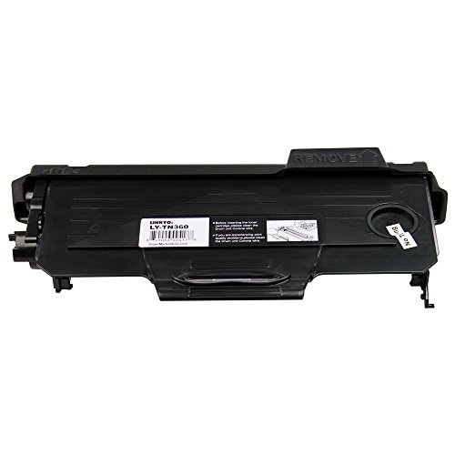 LINKYO LY-TN360 Compatible with Brother TN360 Black Toner Cartridge