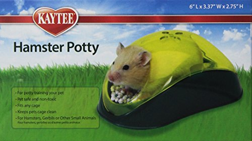 Kaytee Hamster Potty, Colors Vary 41ylvKII2XL