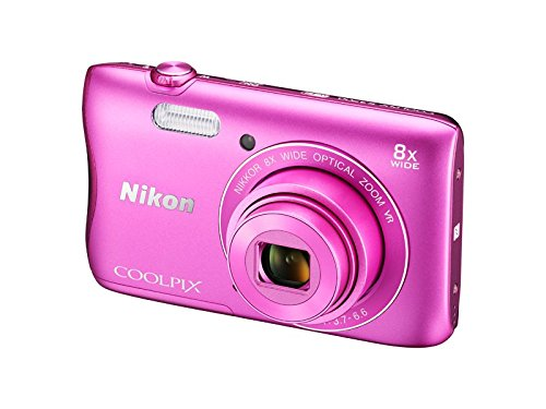 Nikon-Coolpix-S3700-201MP-Point-And-Shoot-Digital-Camera-Pink-with-8x-Optical-Zoom