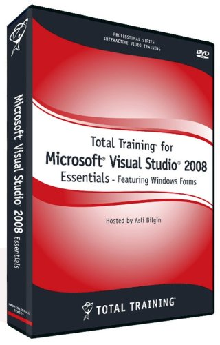 Total Training for Microsoft Visual Studio 2008 Essentials - Featuring Windows Forms (Mac/PC DVD)