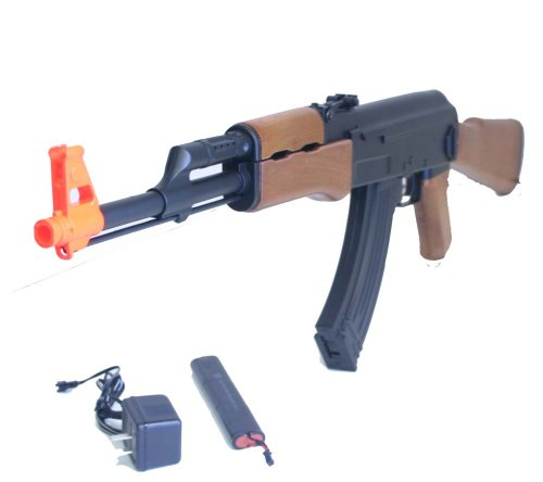 New AK47 Electric Auto Airsoft Gun Automatic Rifle w BB – CM022