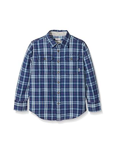 Burton Camisa Niño Brighton Stillwater Townie Azul