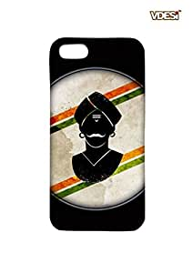 VDESI Matte case for Apple iPhone 5 - MangalPandey (Blk)