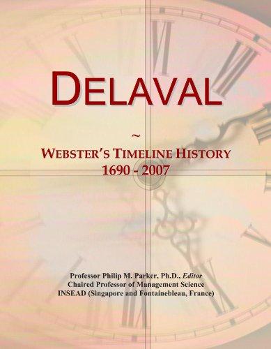 Delaval: Webster's Timeline History, 1690 - 2007