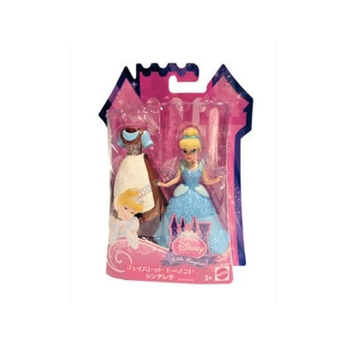 Disney Princess Little Kingdom Cinderella 4.5 inch Doll - 1
