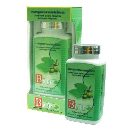 Be-Fit Senna Garcinia Cambogia, 120 Herbal Slimming Capsules
