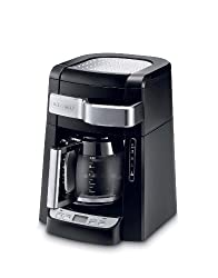 DeLonghi DCF2212T 12-Cup Glass Carafe Drip Coffee Maker, Black from Delonghi