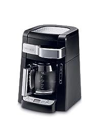 De Longhi Dcf2212 T 12 Cup Glass Carafe Drip Coffee Maker, Black
