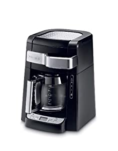 DeLonghi DCF2212T 12-Cup Glass Carafe Drip Coffee Maker (Black)