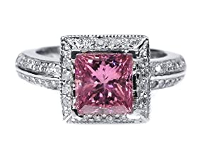 2.00 CT Pink Diamond Engagement Ring