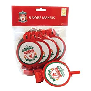 Amscan Liverpool FC Blowouts, Pack of 8 by Amscan International