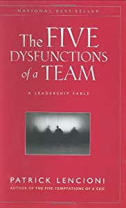 "Cover of ""The Five Dysfunctions of a Team..."