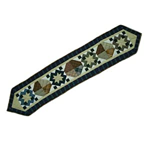 Patch Magic 72-Inch by 16-Inch Pioneer Diamond Table Runner