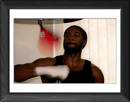 Framed Prints of Boxing - World Heavyweight Championship - Lennox Lewis v Francois Botha - from PA Photos