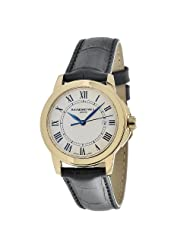 Raymond Weil Men's 5376-P-00300 Tradition Round Case Gold Tone Watch