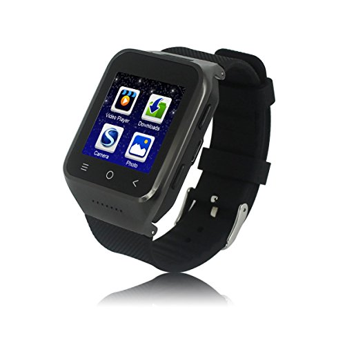 JideTech GPS Position Smart Watch S8 With SIM Card 3G WCDMA Android 4.4 System 5.0 MP Camera 4G ROM