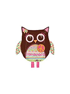 "22"" Hippie Chick Owl Balloon"