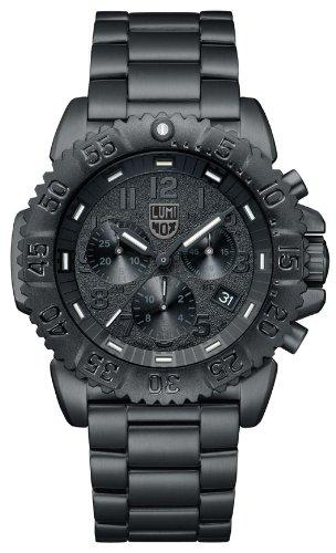 [ルミノックス]Luminox 腕時計 ネイビーシールズ 3182 BlackOut メンズ 【正規輸入品】