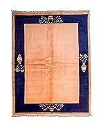 CarpeTrade Alfombra Pechino (Salmón/Azul)