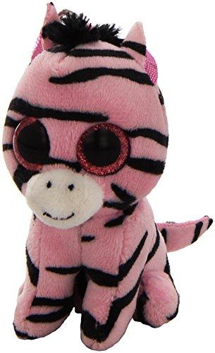 "Ty Beanie Boo 3"" Zoey the Zebra Clip - 1"