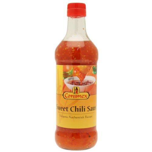 Conimex Sweet Chili Saus, Sauce Chili Sucrée, Sauce au Poivre, Sauce Pimentée, 500 ml