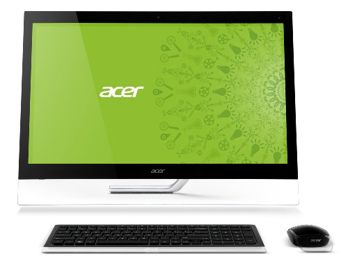 Acer Aspire A7600U-UR24 27-Inch All-in-One Touchscreen Desktop (Black)