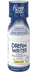 Dream Water NighTEA Night, 2.5 Ounce, Sleep Aid, 12 Count