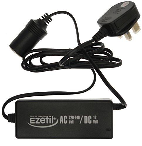 EZetil Netzteil AC/DC 230V - 12V, 5.0A, Schwarz (UK Plug)