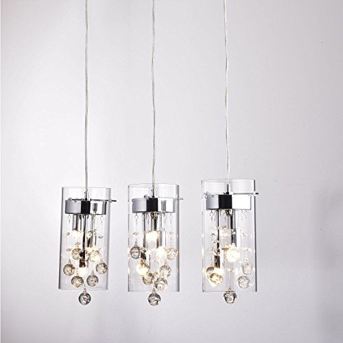 CLAXY® Ecopower Lighting Glass & Crystal Pendant Lighting