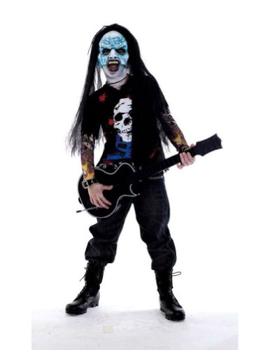 boys - Zombie Icons Zombie Rocker 7-8 Halloween Costume - Child 7-8