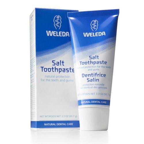 Weleda Salt Toothpaste, 3.3-Ounce (Pack of 2)