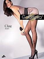 Gabriella Elegant Mesdames Collants à Motif de Côté GB 467 20 DEN