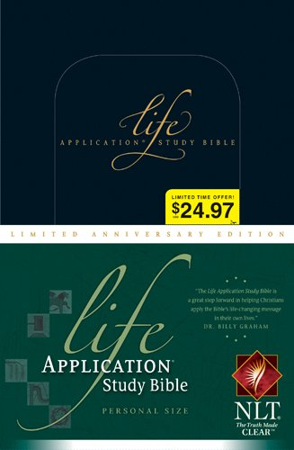 Life Application Study Bible NLT, Personal Size Limited Anniversary Edition