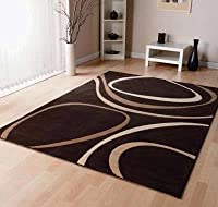 large contemporary Patina rug (brown) 200cm x 290cm from Rugs