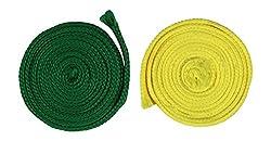 Sri Vaari Lace Multicoloured Polyester Shoe Lace (Pack Of 2)