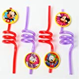 Mickey Mouse Straws 4ct