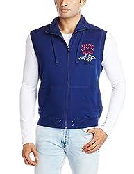 People Men's Cotton Sweatshirt (8903880792459_P10101358019219_X-Large_Navy)